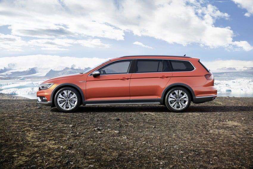 Geneva 2015: Volkswagen Passat Alltrack – second generation unveiled based on B8 Passat Image #314026