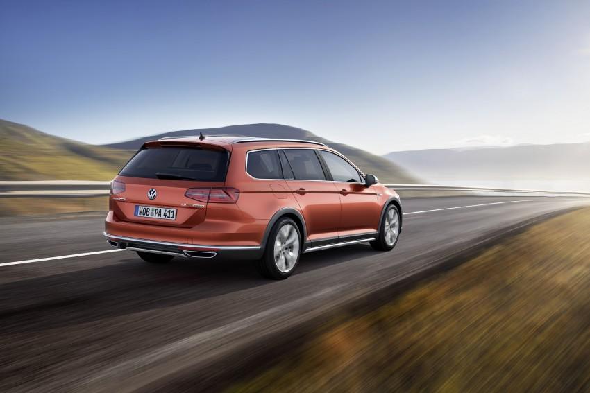 Geneva 2015: Volkswagen Passat Alltrack – second generation unveiled based on B8 Passat Image #314029