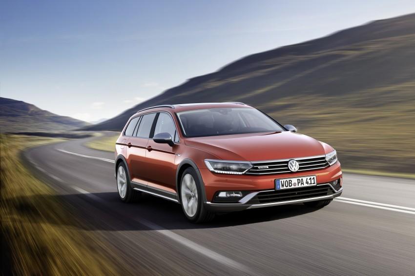 Geneva 2015: Volkswagen Passat Alltrack – second generation unveiled based on B8 Passat Image #314030