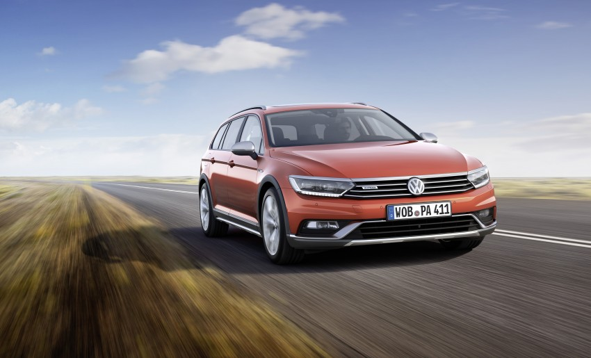 Geneva 2015: Volkswagen Passat Alltrack – second generation unveiled based on B8 Passat Image #314033