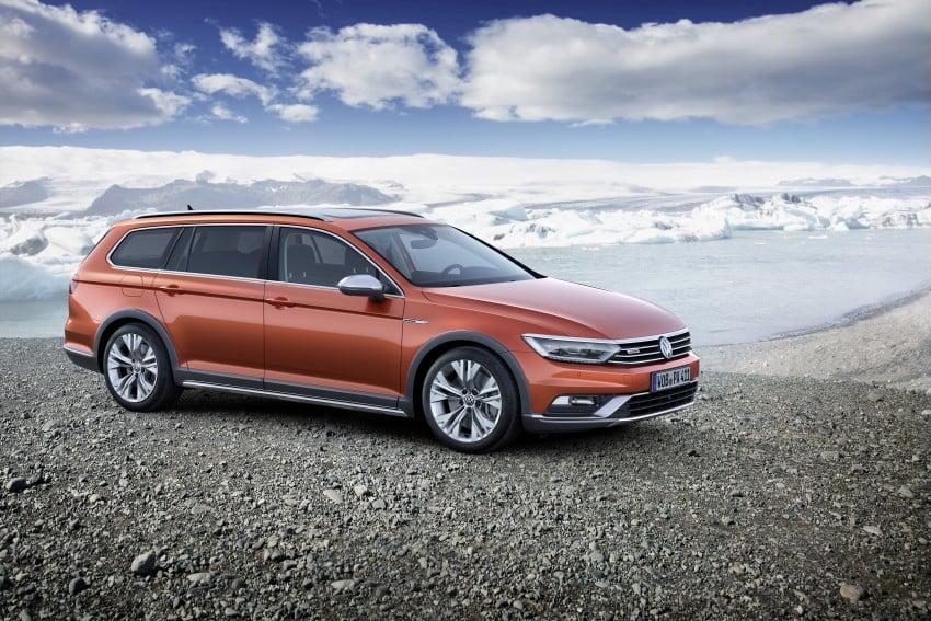Geneva 2015: Volkswagen Passat Alltrack – second generation unveiled based on B8 Passat Image #314035