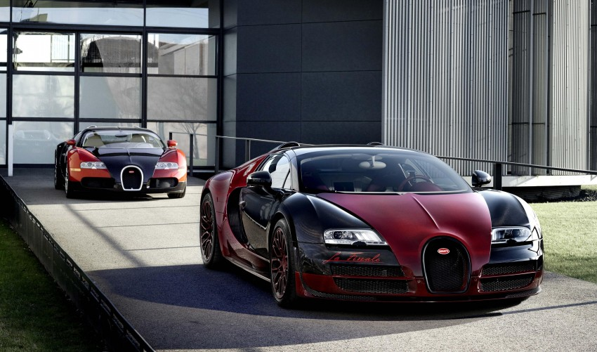 "Bugatti Veyron 16.4 Grand Sport Vitesse ""La Finale"" – the 450th and last Veyron signs off in Geneva Image #315827"