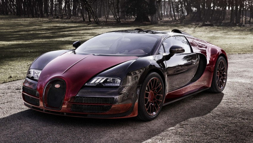 "Bugatti Veyron 16.4 Grand Sport Vitesse ""La Finale"" – the 450th and last Veyron signs off in Geneva Image #315825"