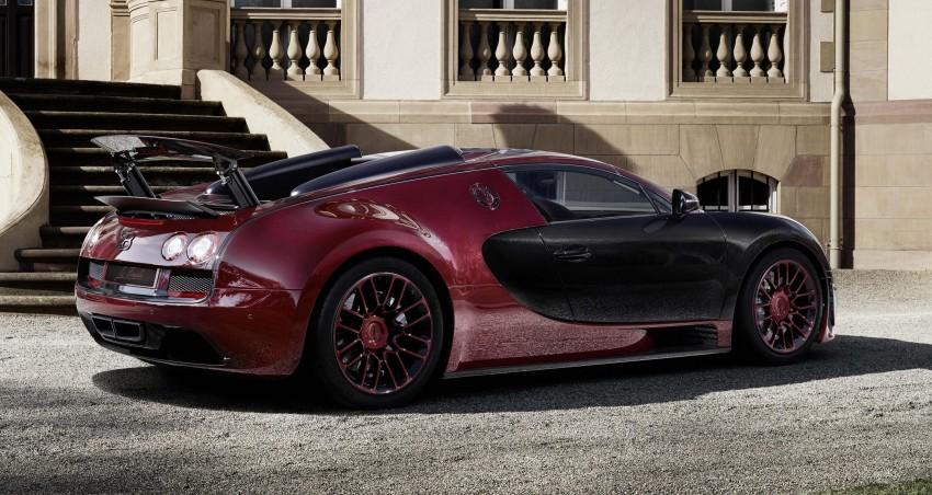 """Bugatti Veyron 16.4 Grand Sport Vitesse """"La Finale"""" – the 450th and last Veyron signs off in Geneva Image #315824"""