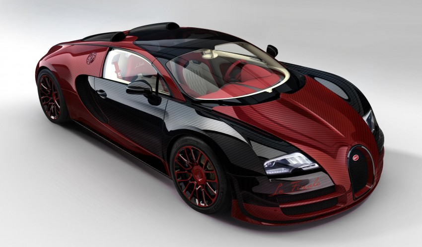 "Bugatti Veyron 16.4 Grand Sport Vitesse ""La Finale"" – the 450th and last Veyron signs off in Geneva Image #315822"