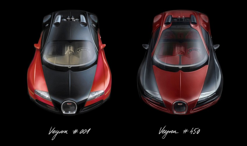 "Bugatti Veyron 16.4 Grand Sport Vitesse ""La Finale"" – the 450th and last Veyron signs off in Geneva Image #315813"