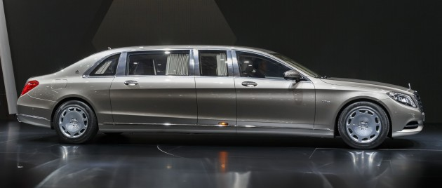 Mercedes Maybach S600 Pullman Debuts At Geneva