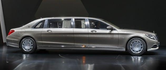 Mercedes Maybach S600 Pullman Debuts At Geneva