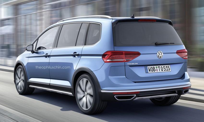 Third-generation Volkswagen Cross Touran rendered Image #316092