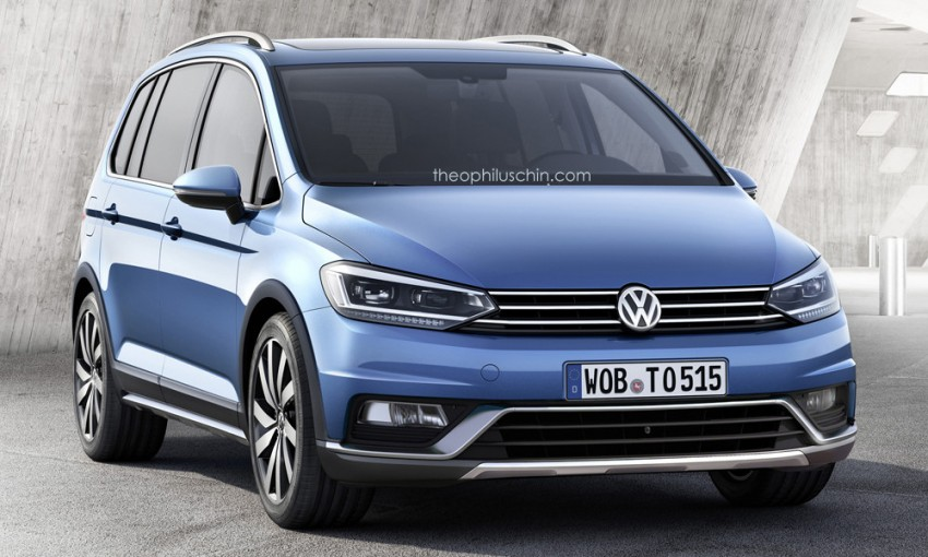 Third-generation Volkswagen Cross Touran rendered Image #316093