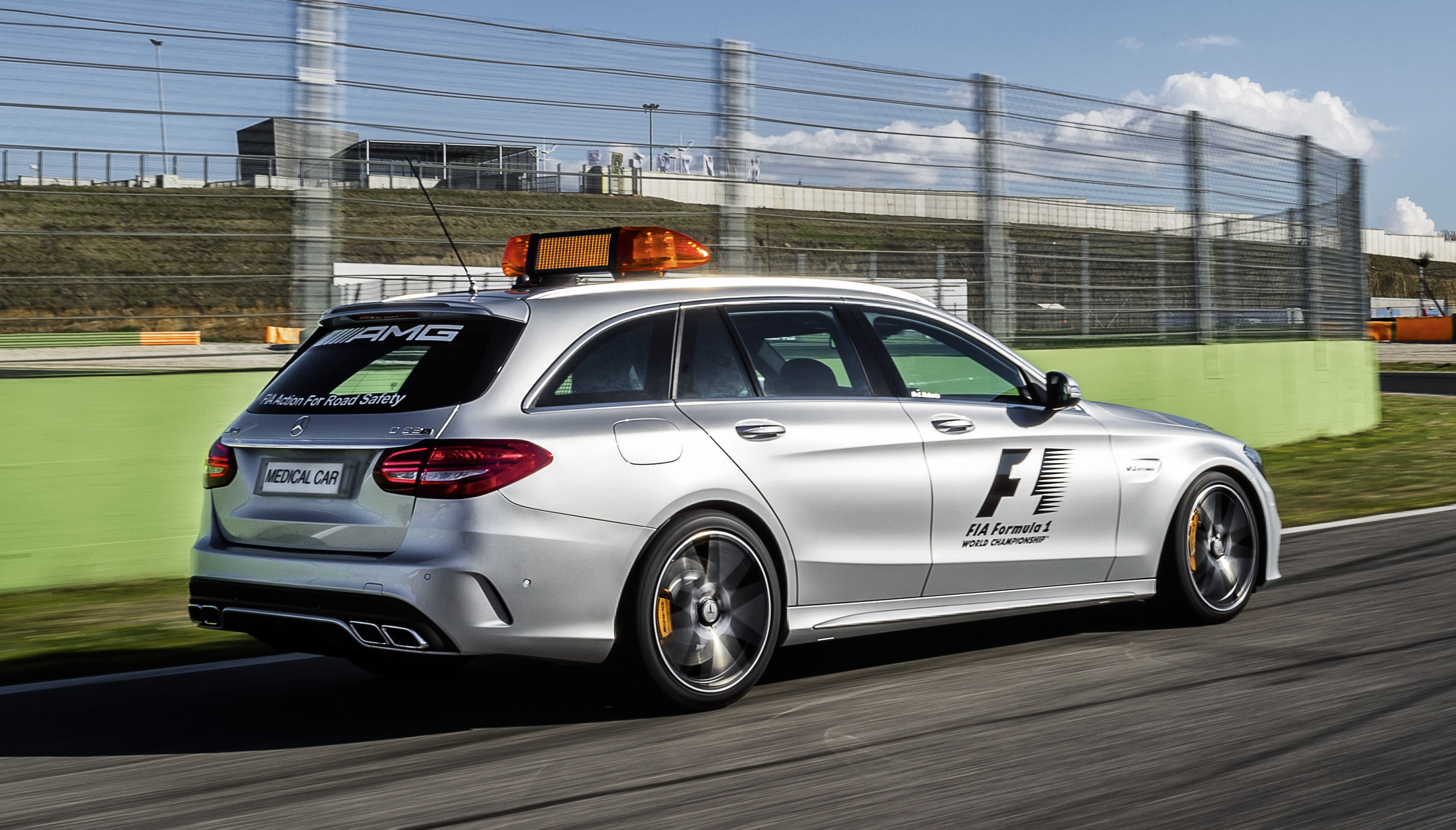 New F1 Safety Car And Medical Car Unveiled For 2015