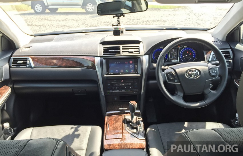 GALLERY: 2015 Toyota Camry 2.0G CKD, first pictures Image #322859
