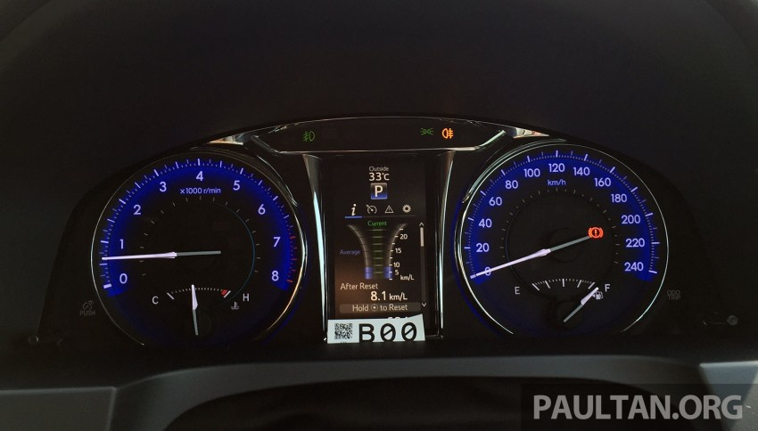 GALLERY: 2015 Toyota Camry 2.0G CKD, first pictures Image #322860