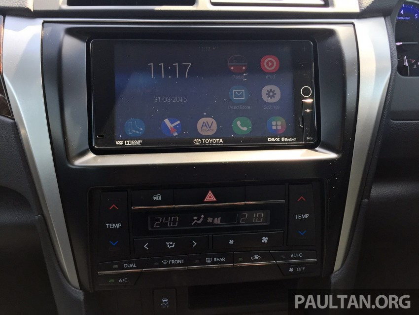 GALLERY: 2015 Toyota Camry 2.0G CKD, first pictures Image #322861