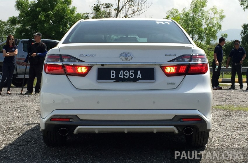GALLERY: 2015 Toyota Camry 2.0G CKD, first pictures Image #322865