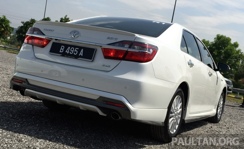 GALLERY: 2015 Toyota Camry 2.0G CKD, first pictures Image #322848