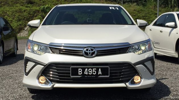 2015 Toyota Camry facelift – specs and equipment released