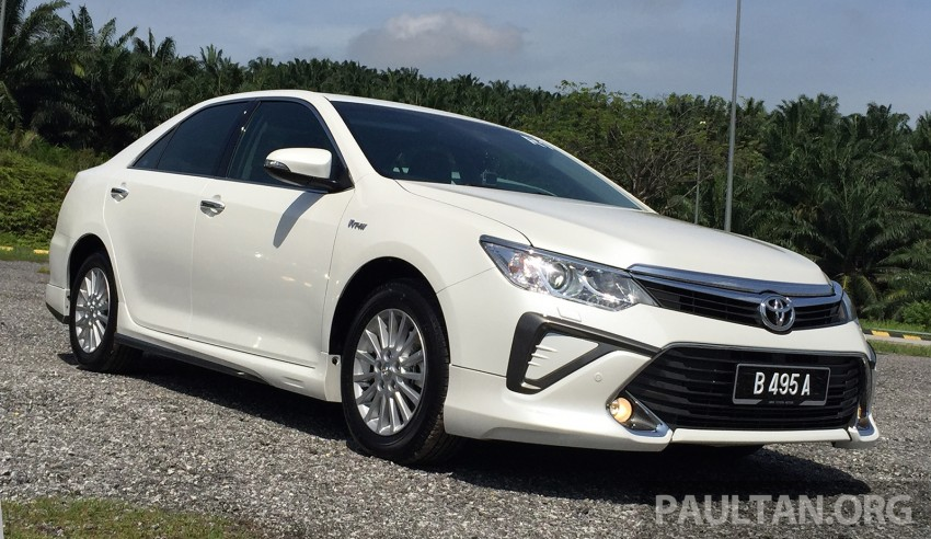 GALLERY: 2015 Toyota Camry 2.0G CKD, first pictures Image #322849