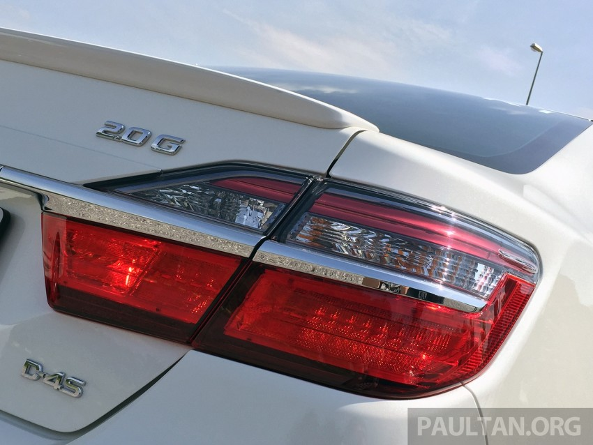 GALLERY: 2015 Toyota Camry 2.0G CKD, first pictures Image #322851