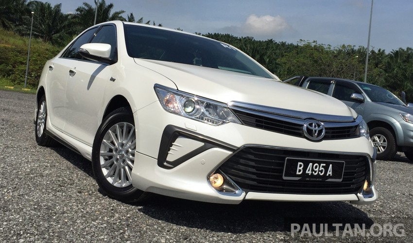 GALLERY: 2015 Toyota Camry 2.0G CKD, first pictures Image #322855