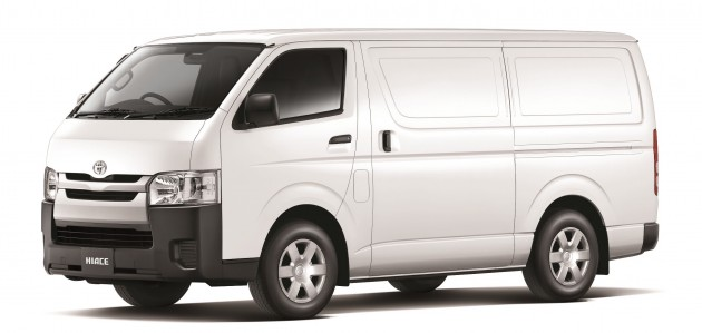 2015 Toyota Hiace gets improved safety, from RM88k