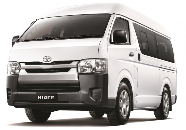 2015 Toyota Hiace Window Van