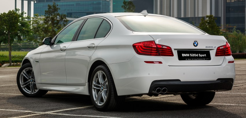 BMW 520d Sport introduced in Malaysia – 50 units Image #316416