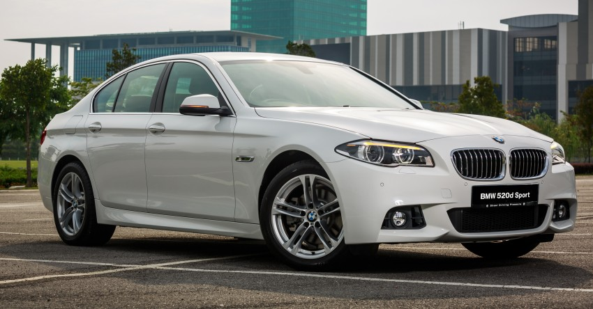 BMW 520d Sport introduced in Malaysia – 50 units Image #316417