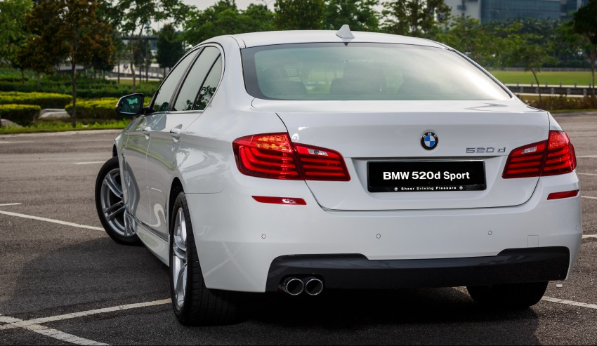BMW 520d Sport introduced in Malaysia – 50 units Image #316418