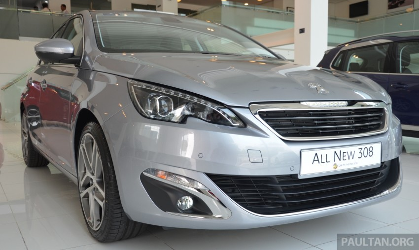 GALLERY: 2015 Peugeot 308 now in showrooms Image #320524