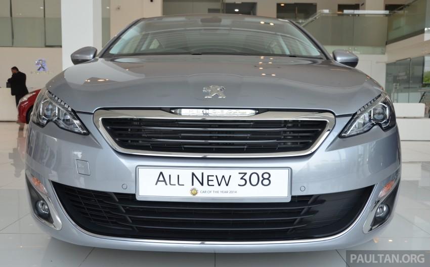 GALLERY: 2015 Peugeot 308 now in showrooms Image #320525