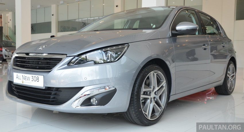 GALLERY: 2015 Peugeot 308 now in showrooms Image #320526