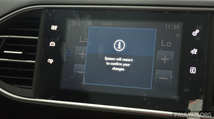 GALLERY: 2015 Peugeot 308 now in showrooms Image #320566