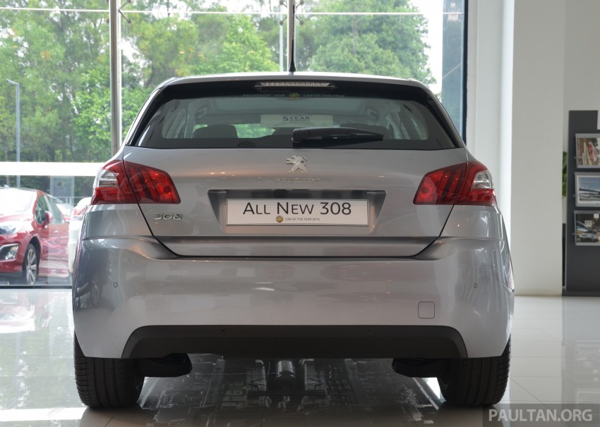 GALLERY: 2015 Peugeot 308 now in showrooms Image #320589
