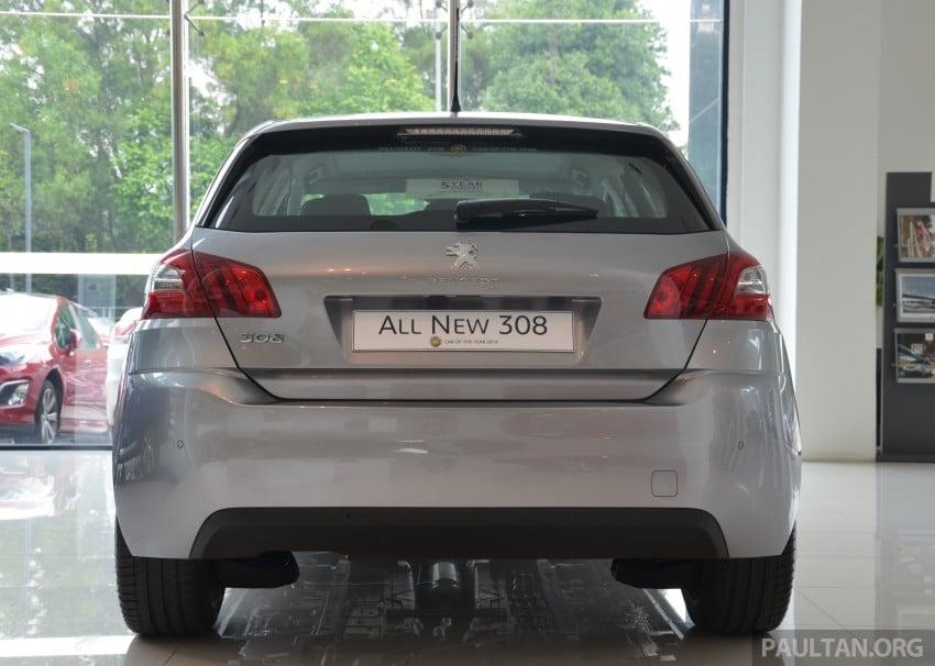 GALLERY: 2015 Peugeot 308 now in showrooms Image #320589