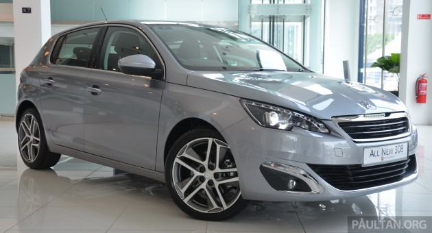 gallery: 2015 peugeot 308 now in showrooms
