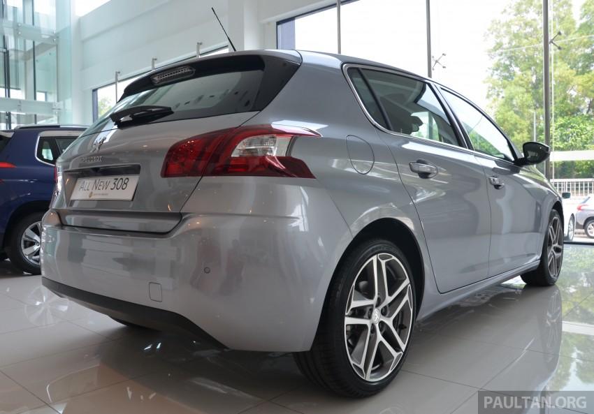 GALLERY: 2015 Peugeot 308 now in showrooms Image #320531
