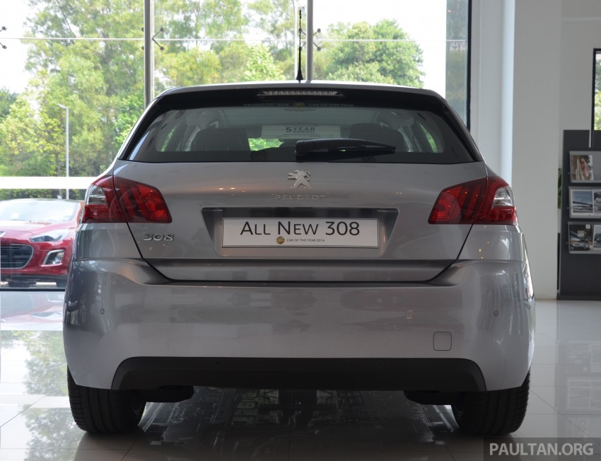 GALLERY: 2015 Peugeot 308 now in showrooms Image #320532