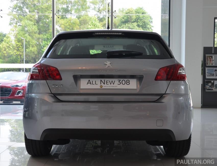 GALLERY: 2015 Peugeot 308 now in showrooms Image #320532