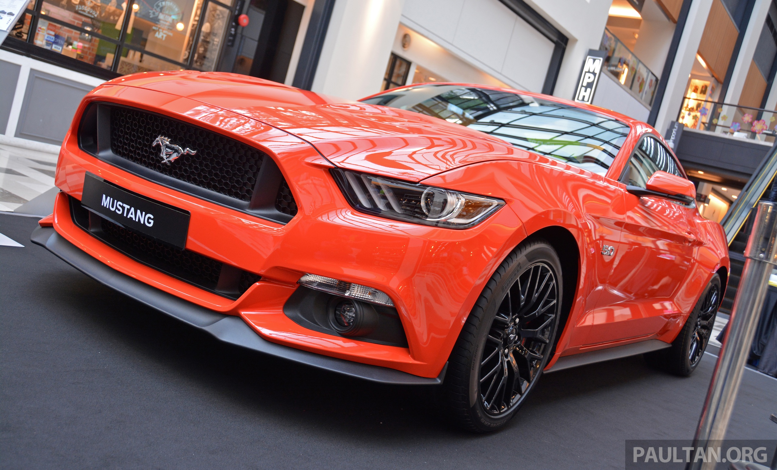 Gallery ford mustang 5 0 gt on display at publika image 317628