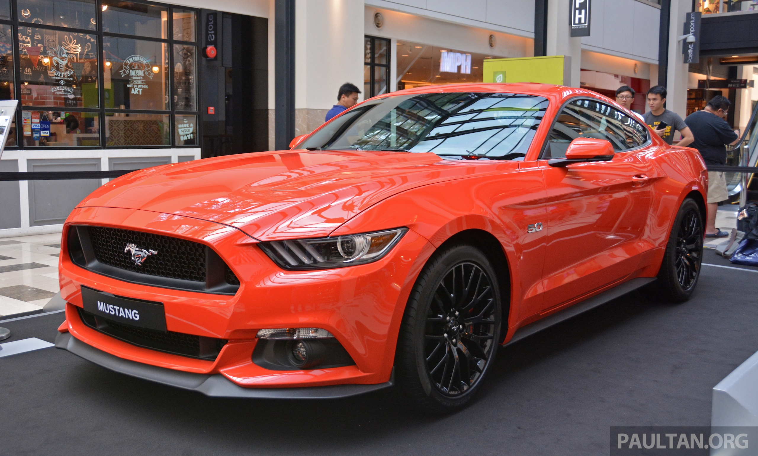 GALLERY: Ford Mustang 5.0 GT on display at Publika Paul ...
