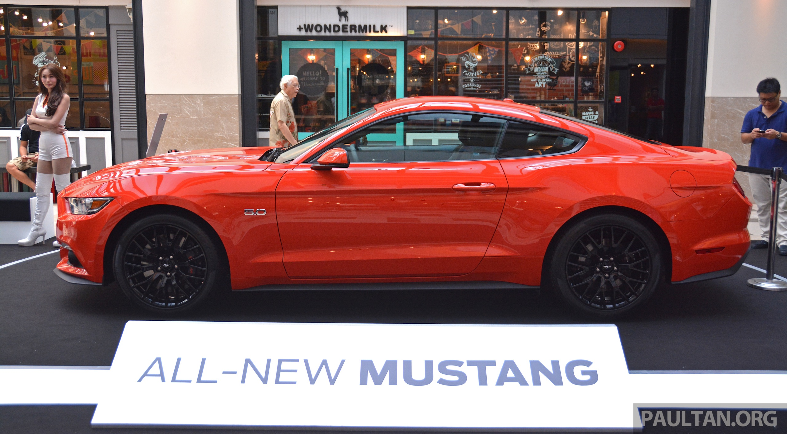 Gallery ford mustang 5 0 gt on display at publika image 317632