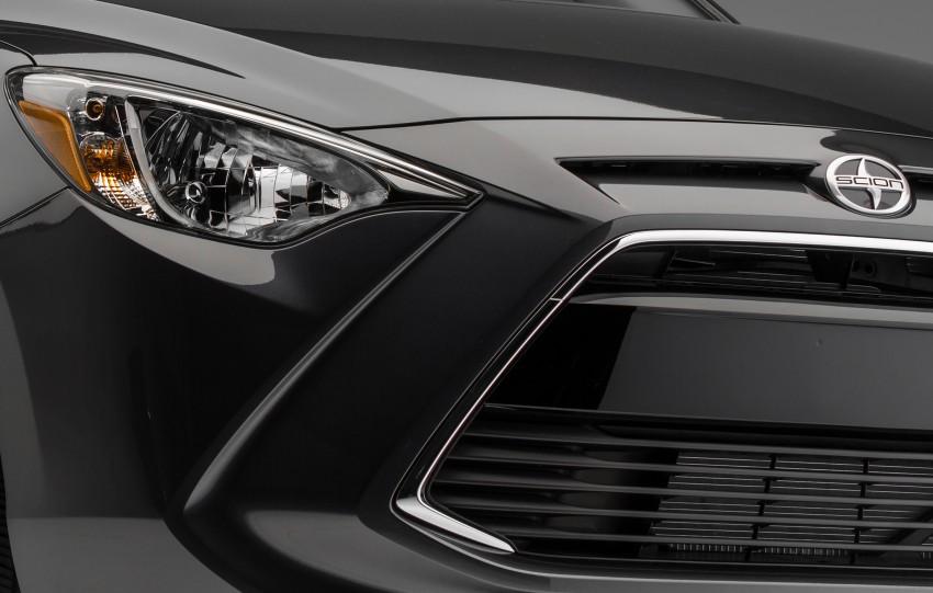 Scion iM, iA sedan teased ahead of New York debut Image #319815