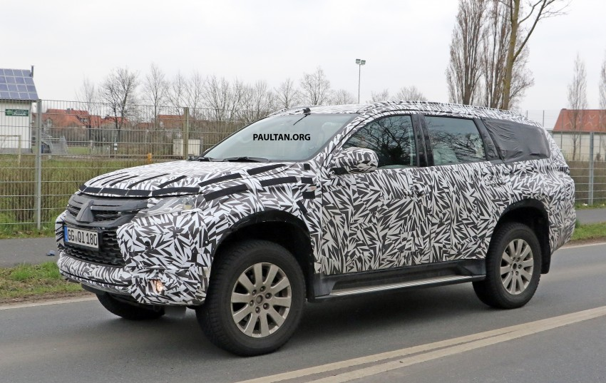 SPIED: 2016 Mitsubishi Pajero Sport first sightings Image #321877