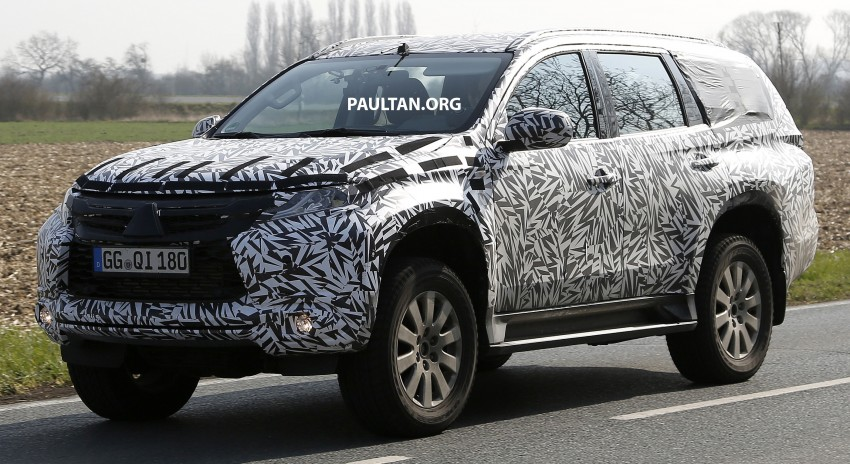 SPIED: 2016 Mitsubishi Pajero Sport first sightings Image #321869