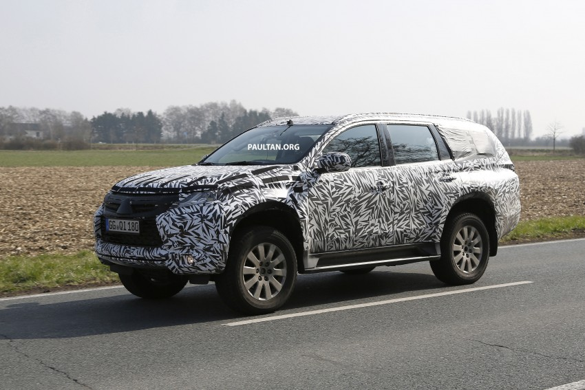SPIED: 2016 Mitsubishi Pajero Sport first sightings Image #321870
