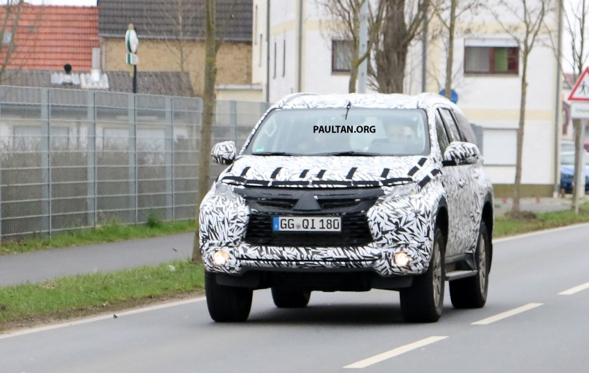 SPIED: 2016 Mitsubishi Pajero Sport first sightings Image #321875