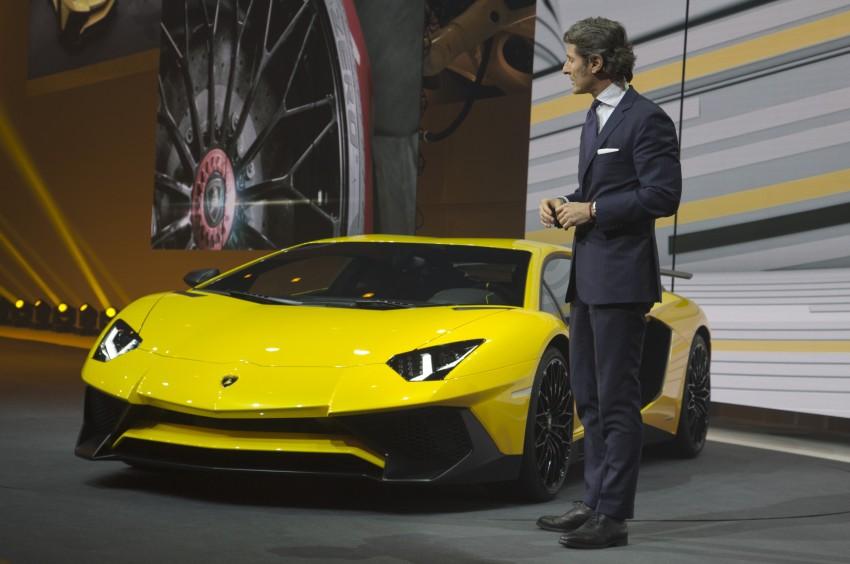 Lamborghini Aventador LP750-4 Superveloce debuts Image #315578