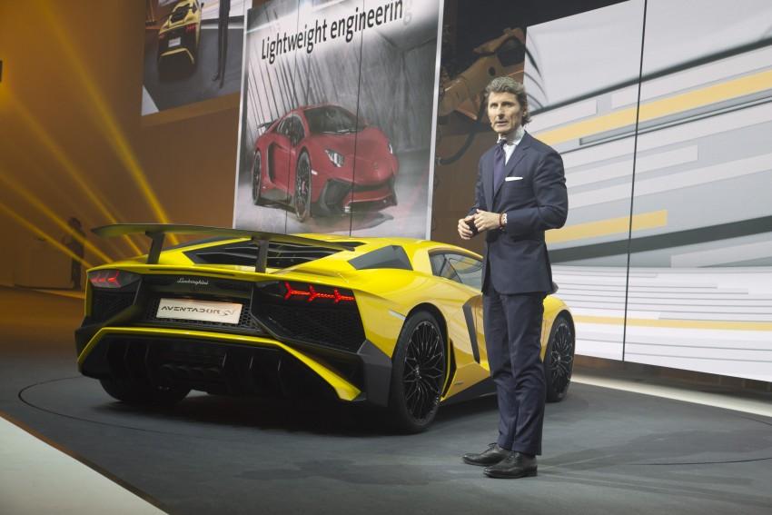 Lamborghini Aventador LP750-4 Superveloce debuts Image #315579