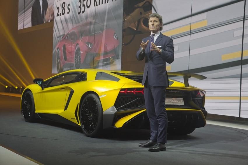 Lamborghini Aventador LP750-4 Superveloce debuts Image #315580